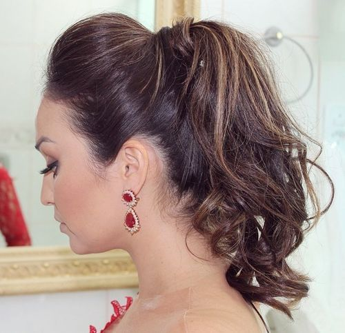 Ponytail Hairstyles -easy ponytail hairstyles