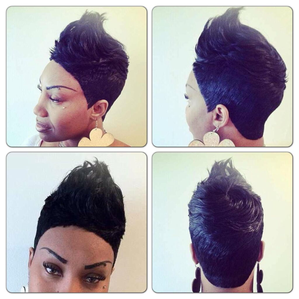 How To Janet Jackson Inspired Quick Weave 27 Pieces Short via pinterest.com