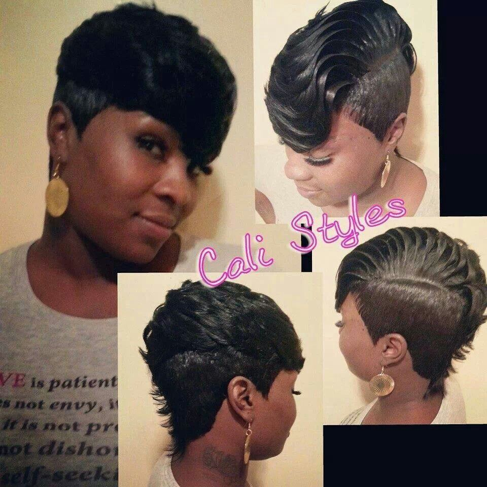 Why Is 27 Piece Weave Short Hairstyles So Famous 27 Piece Weave via theworldtreetop.com